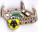 AEK Athen Pin Olympiako Stadio Athinas Spyros Louis Stadium Pin Badge