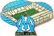 Olympique de Marseille Pin Stade Velodrome Stadium Pin Badge