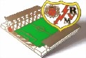 Rayo Vallecano Pin Vallecas Stadium Pin Badge