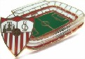 Sevilla FC Pin Ramon Sanchez Pizjuan Stadium Pin Badge